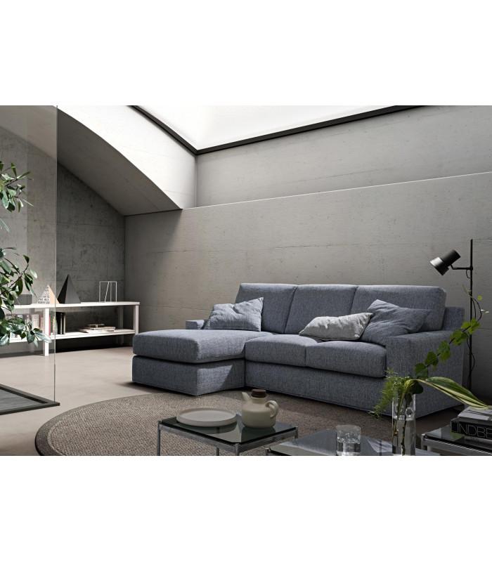 Divani con chaise lounge