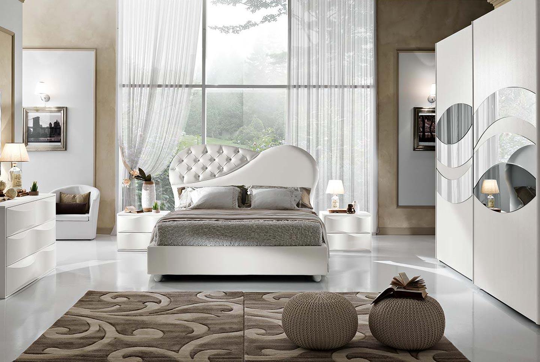 Camere da letto contemporanee