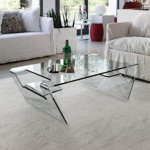 Tavolini da salotto vetro
