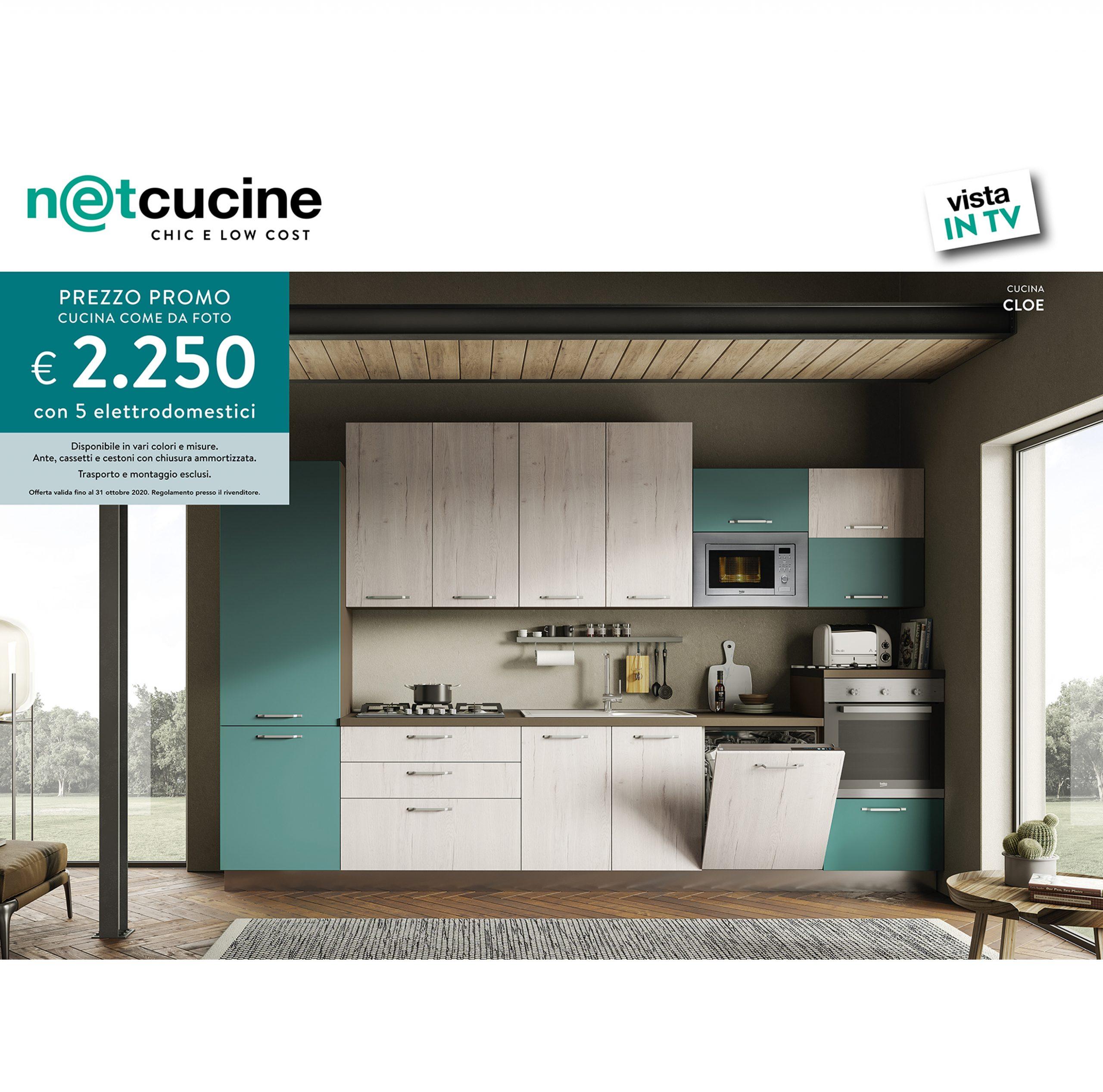 Cucina Cm 360 Cloe H 216 Promo Tv Alpe Arredi